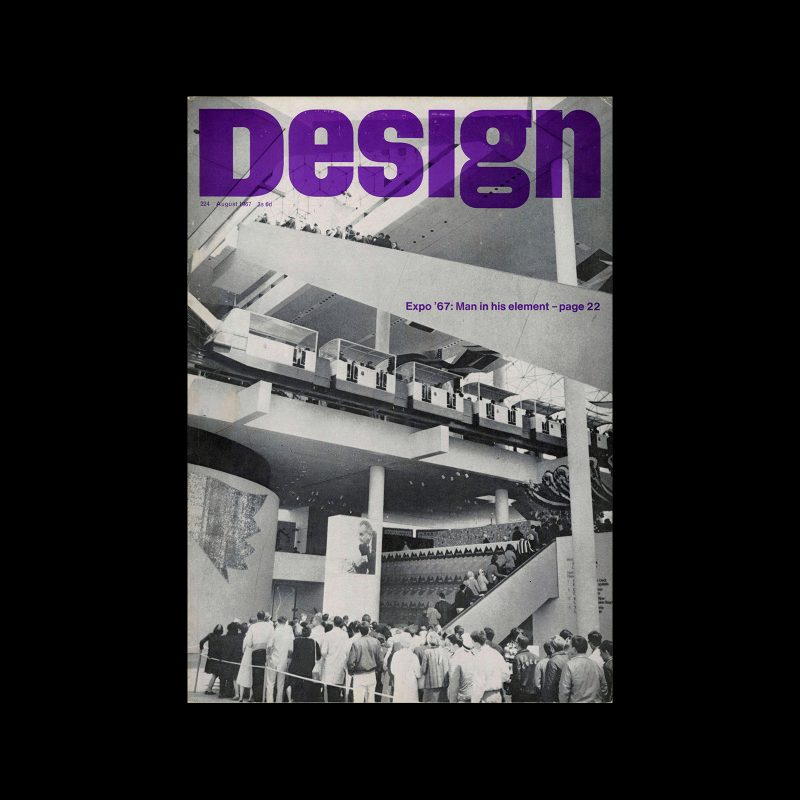 Design, Council of Industrial Design, 224, August 1967