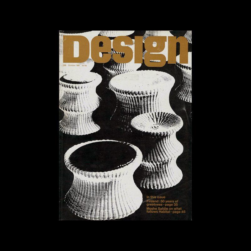 Design, Council of Industrial Design, 226, October 1967