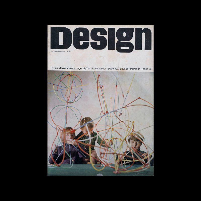 Design, Council of Industrial Design, 227, November 1967