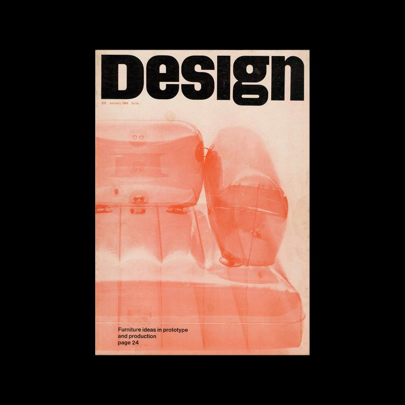 Design, Council of Industrial Design, 229, January 1968