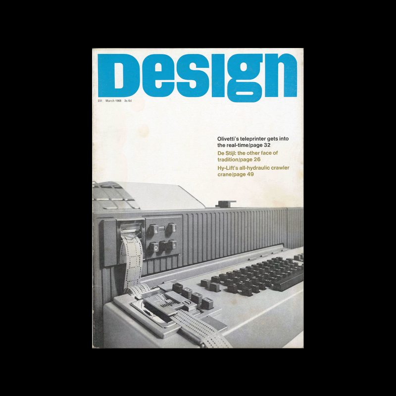 Design, Council of Industrial Design, 231, March 1968