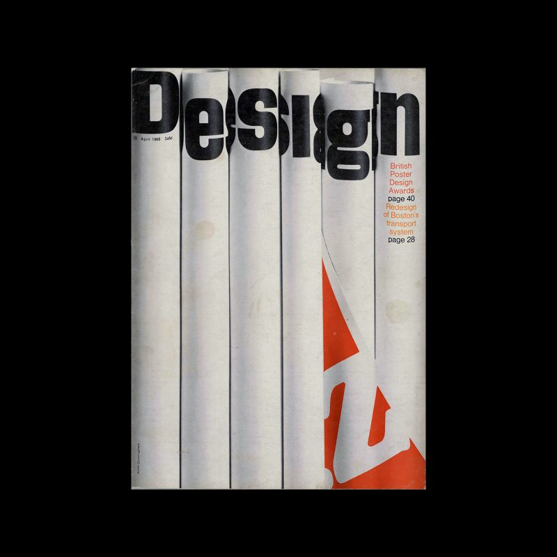 Design, Council of Industrial Design, 232, April 1968. Cover design by Keith Cunningham