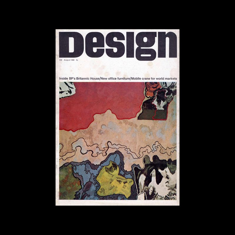 Design, Council of Industrial Design, 236, August 1968. Cover by Sam Lambert