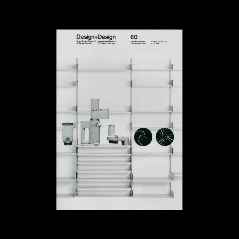 Design+Design, 60, 2002. Designed by Jo Klatt.