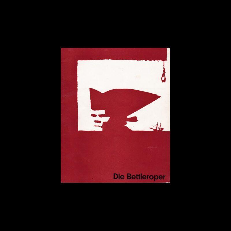 Die Bettleroper. Die Kleine Filmkunstreihe 27 designed by Hans Hillmann
