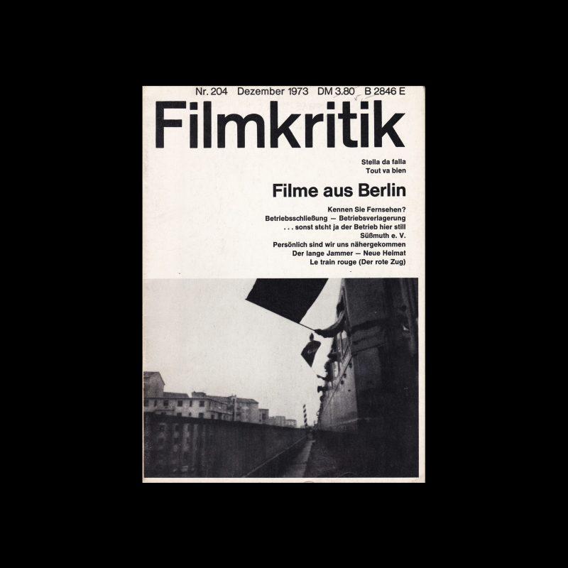 Filmkritik, December 1973