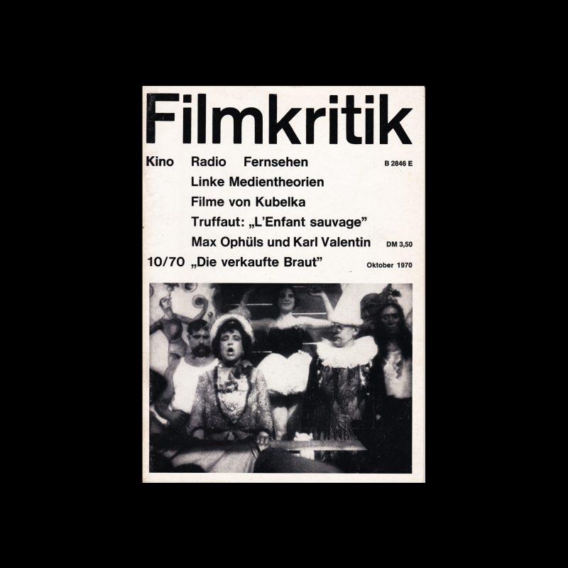Filmkritik, October 1970