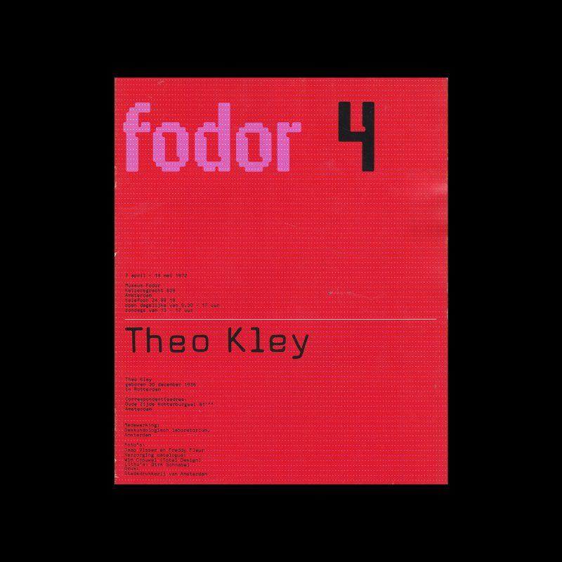 Fodor 4, 1972 - Theo Kley