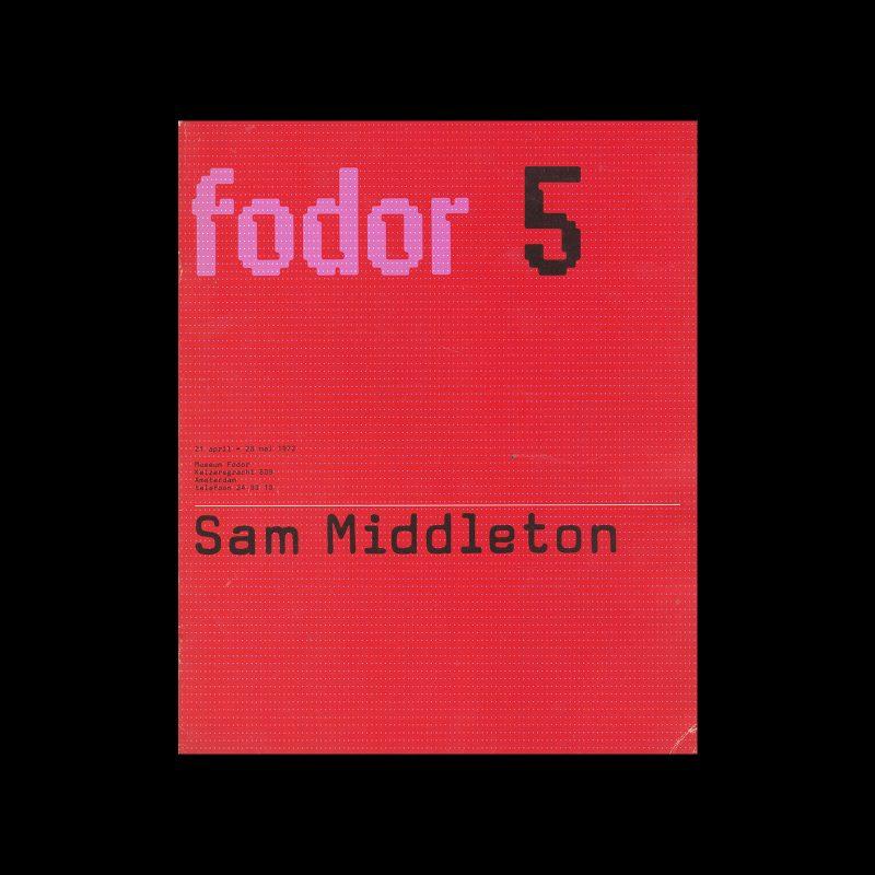 Fodor 5, 1972 - Sam Middleton