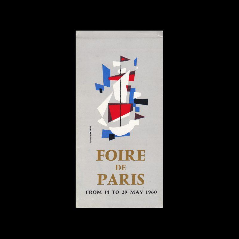 Foire de Paris (Paris International Trade Fair), 1960. Designed by Jean Colin.