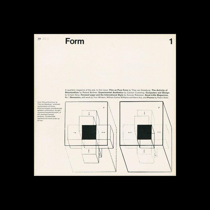 Form, No. 1, Summer 1966