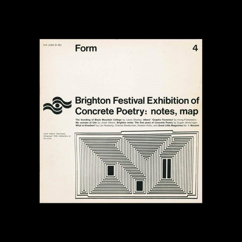 Form, No.4, April 1967
