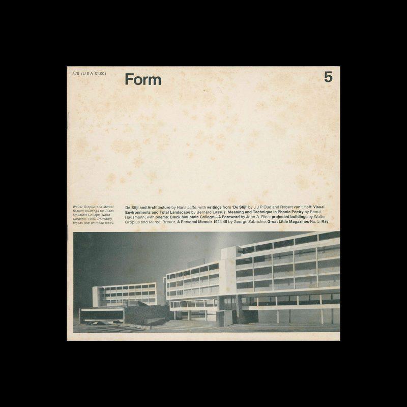 Form, No.5, September 1967