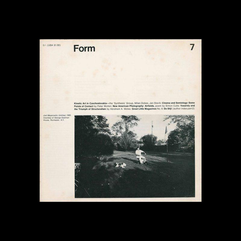 Form, No.7, March 1968