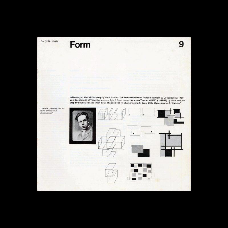 Form, No.9, April 1969