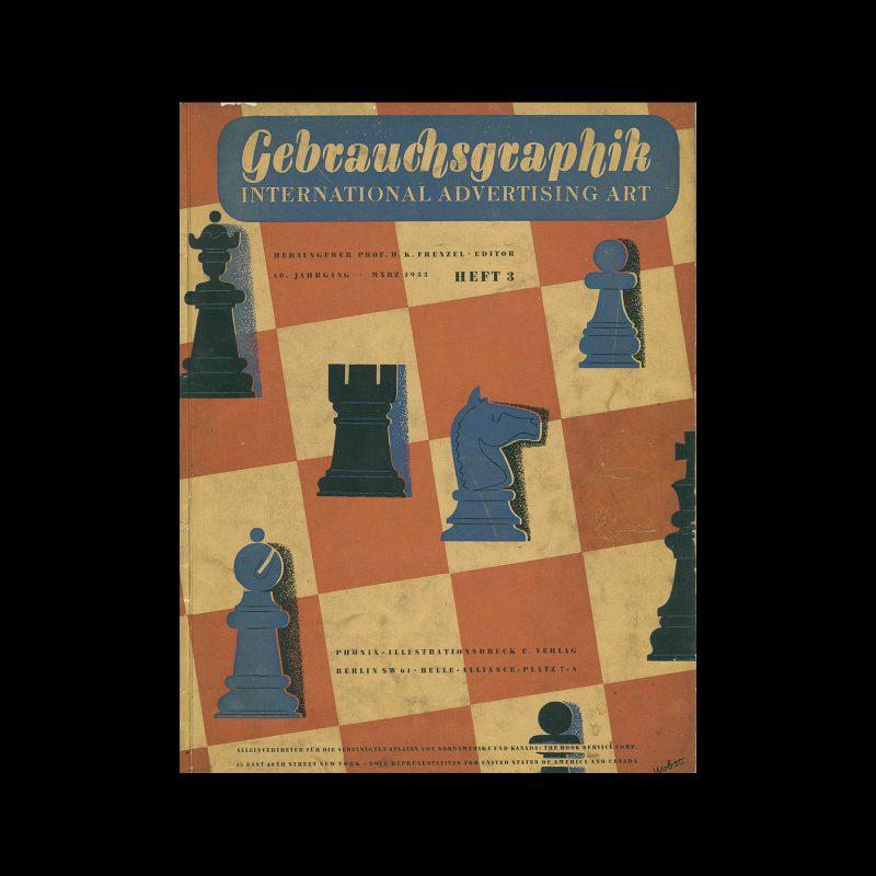 Gebrauchsgraphik, 3, 1933