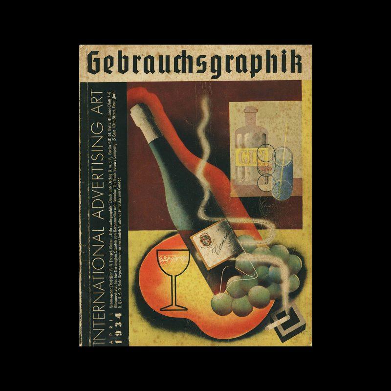 Gebrauchsgraphik, 4, 1934