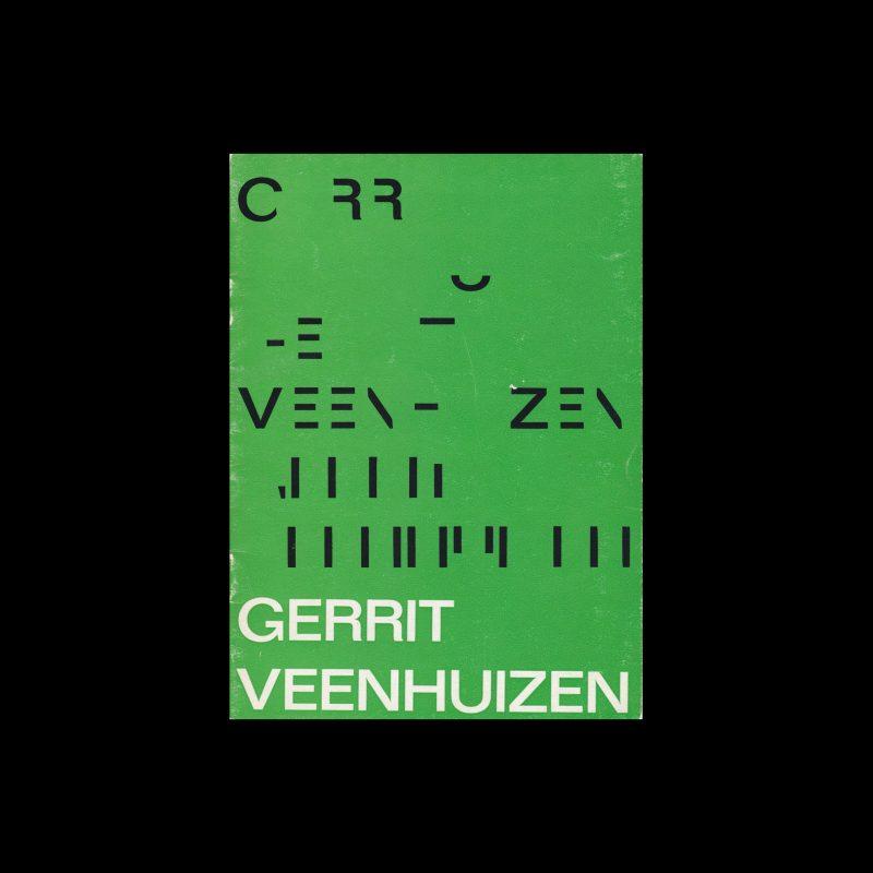 Gerrit Veenhuizen, Gemeentemuseum, Arnhem, 1965 designed by P. Schulz
