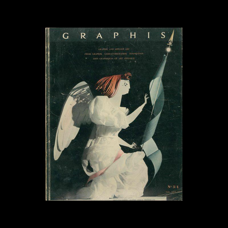 Graphis 03-04, 1944. Cover design by E. Haefelfinger