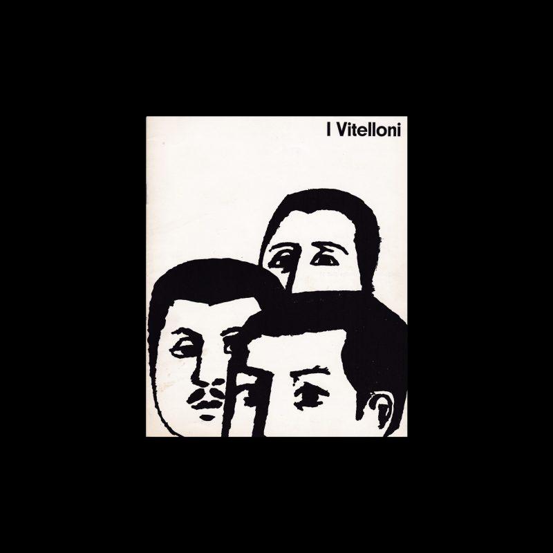 I Vitelloni. Die Kleine Filmkunstreihe 14 designed by Hans Hillmann