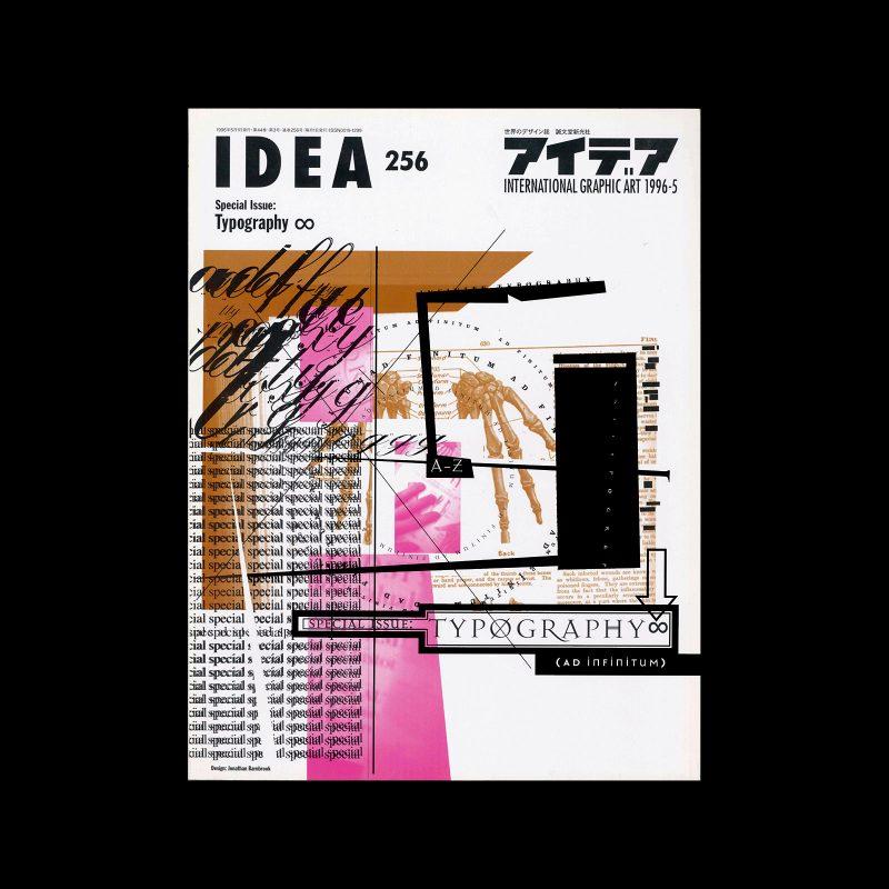 Idea 256, 1996-5. Cover design by Jonathan Barnbrook