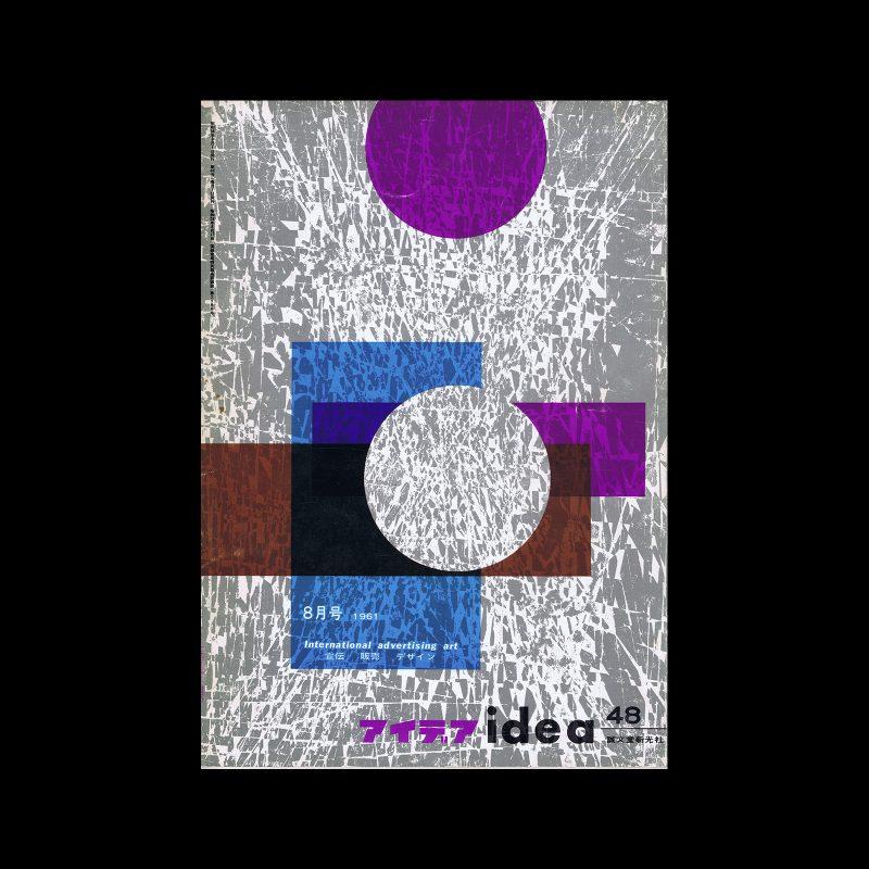 Idea 48, 1961-8. Cover design by Otto Treumann