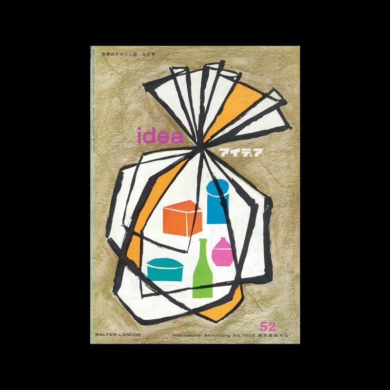 Idea 52, 1962. Cover design by Walter Landor.