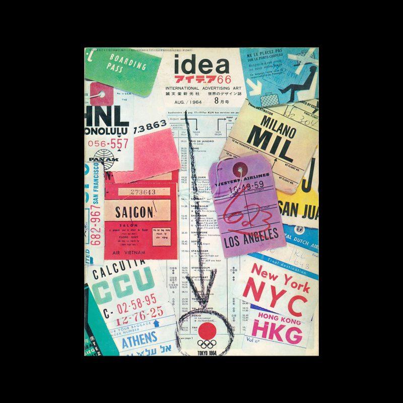 Idea 66, 1964. Cover design by Pieter Brattinga.