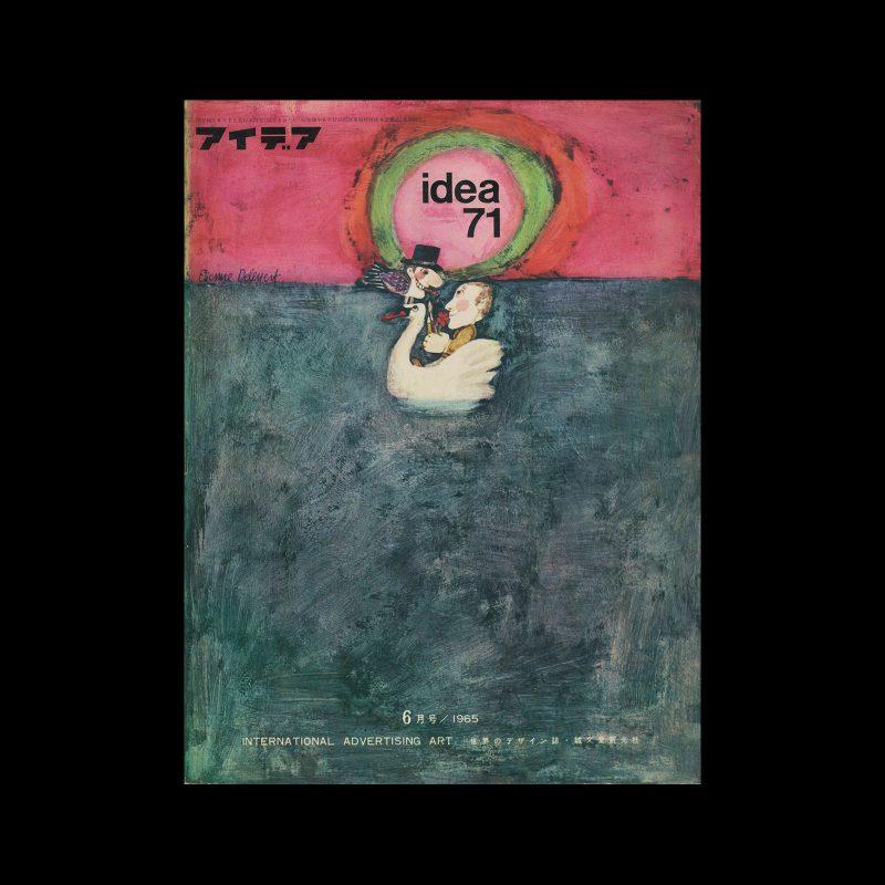 Idea 71, 1965-6. Cover design by Etienne Delessert.