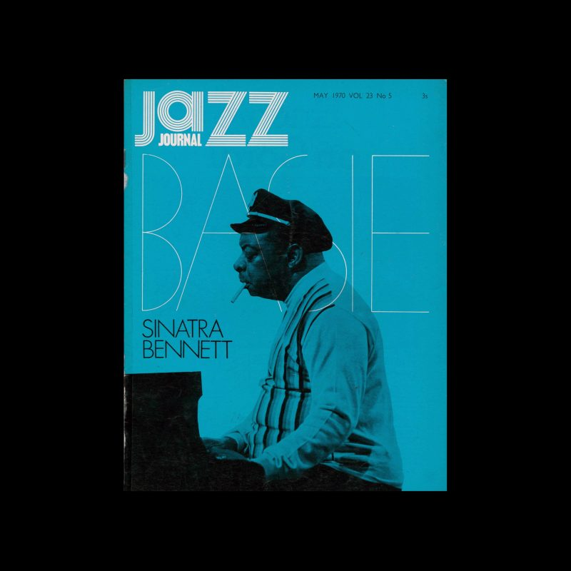 Jazz Journal, 5, 1970. Cover design by Cal Swann