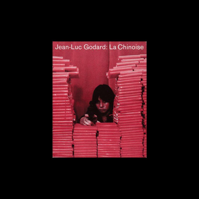 Jean-Luc Godard: La Chinoise. Die Kleine Filmkunstreihe 70 designed by Hans Hillmann