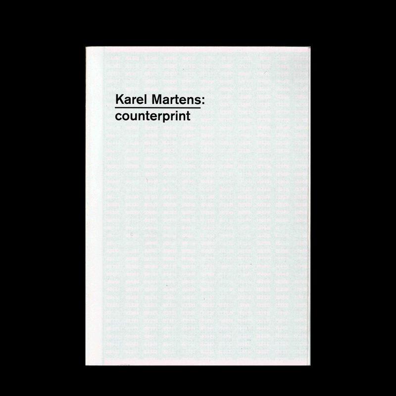 Karel Martens, Counterprint, 2004
