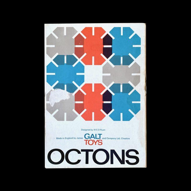 Octons, Galt Toys, Packaging Designed by Ken Garland & Associates