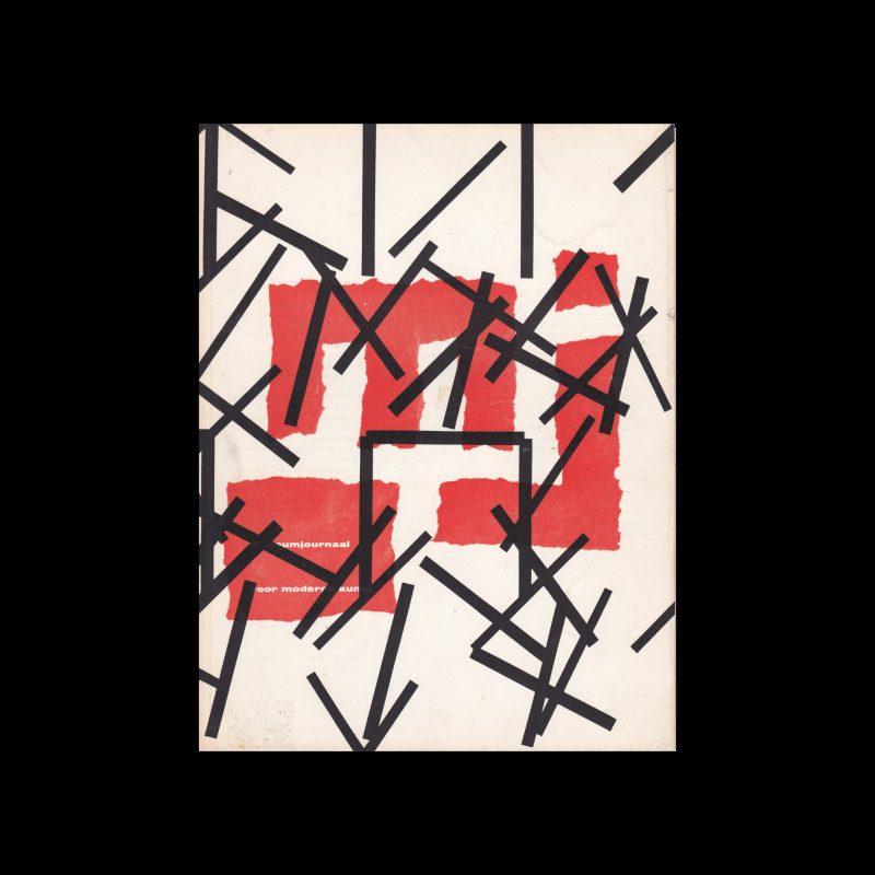 Museumjournaal, Serie 10 no7, 1965. Designed by Willem Sandberg