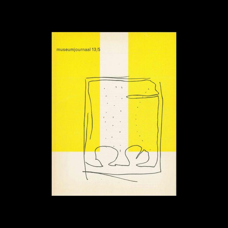 Museumjournaal, Serie 13 no5, 1968. Designed by Jurriaan Schrofer.