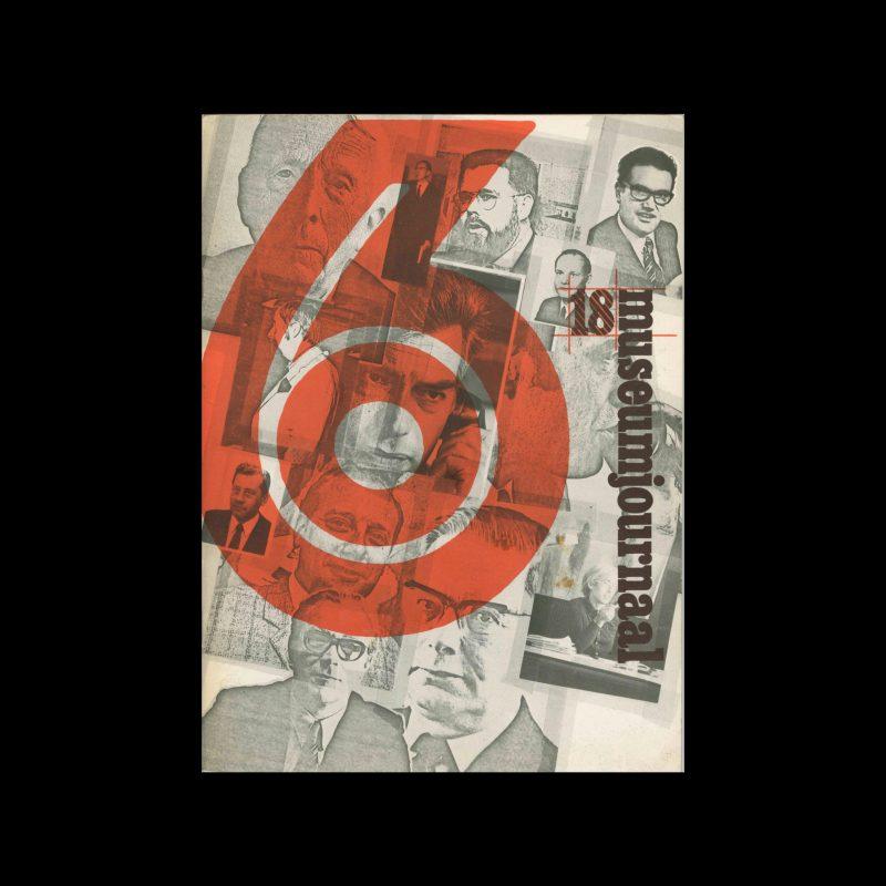 Museumjournaal, Serie 18 no6, 1973. Frank Steenhagen (cover), Jurriaan Schrofer (layout)
