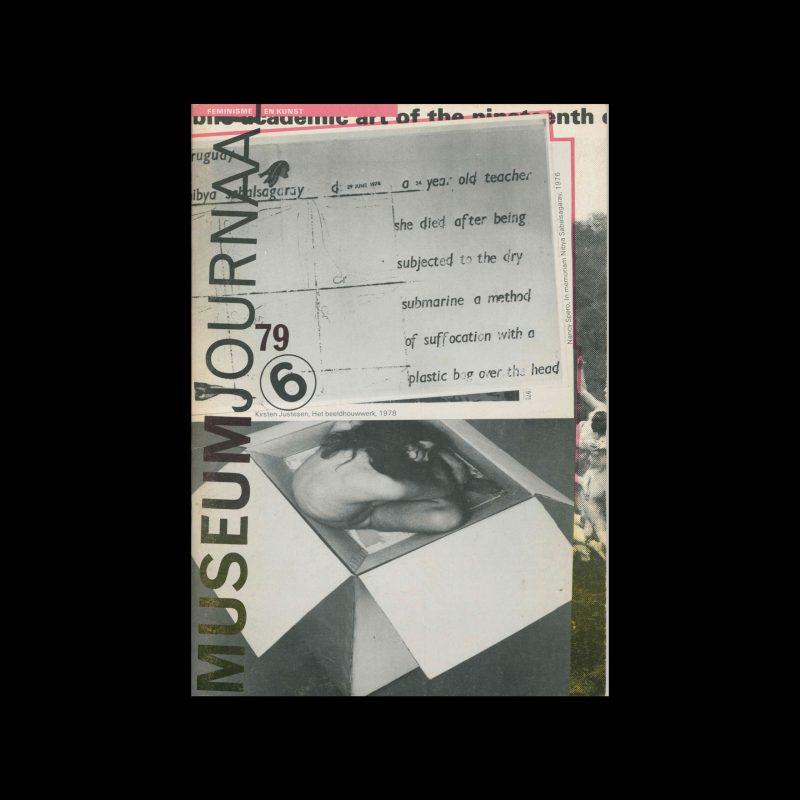 Museumjournaal, Serie 24 no6, 1979. Cover design by Jan van Toorn.