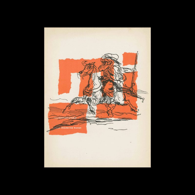 Museumjournaal, Serie 9 no2, 1963. Cover illustration by Eugène Delacroix.