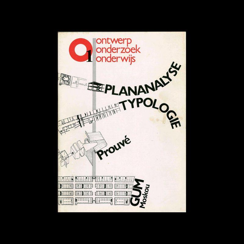 OASE 01, 1981. Designed by Lizzy Plaschek, Harry Wedemeijer, VSSD