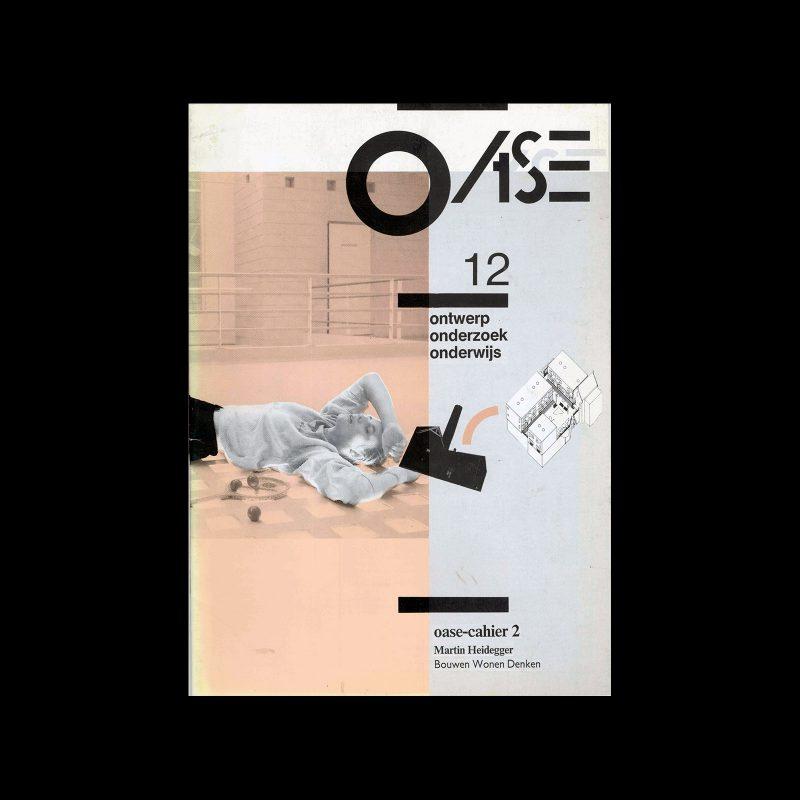 OASE 12, 1986. Designed by Daan ter Avest, HOI Studio