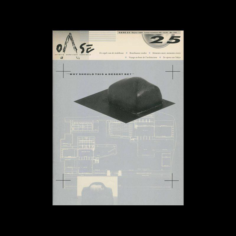 OASE 25, 1989. Design by Mirjam van den Haspel