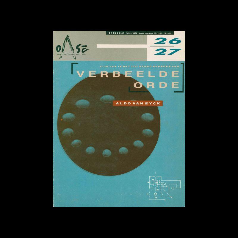 OASE 26-27, 1989. Design by Mirjam van den Haspel