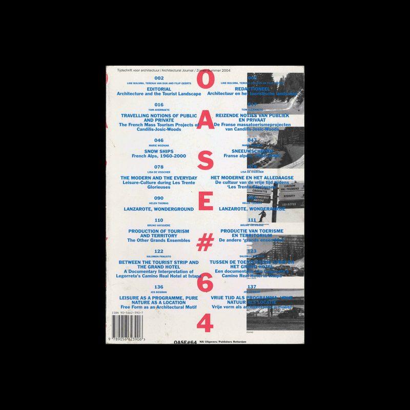OASE 64, 2004. Designed by Karel Martens, Radim Pesko, Werkplaats Typografie