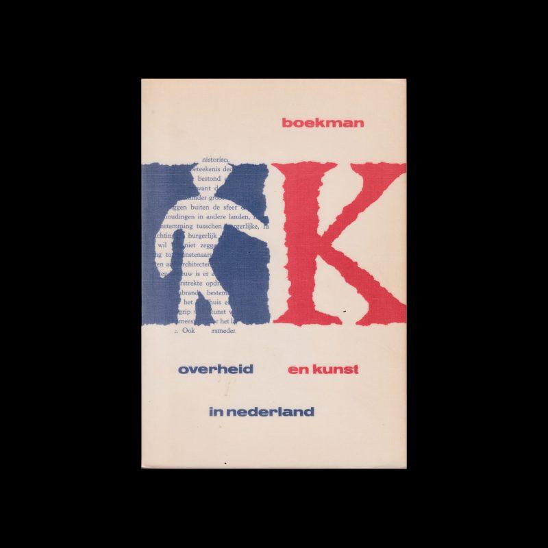 Overheid en kunst in Nederland, 1967 designed by Willem Sandberg