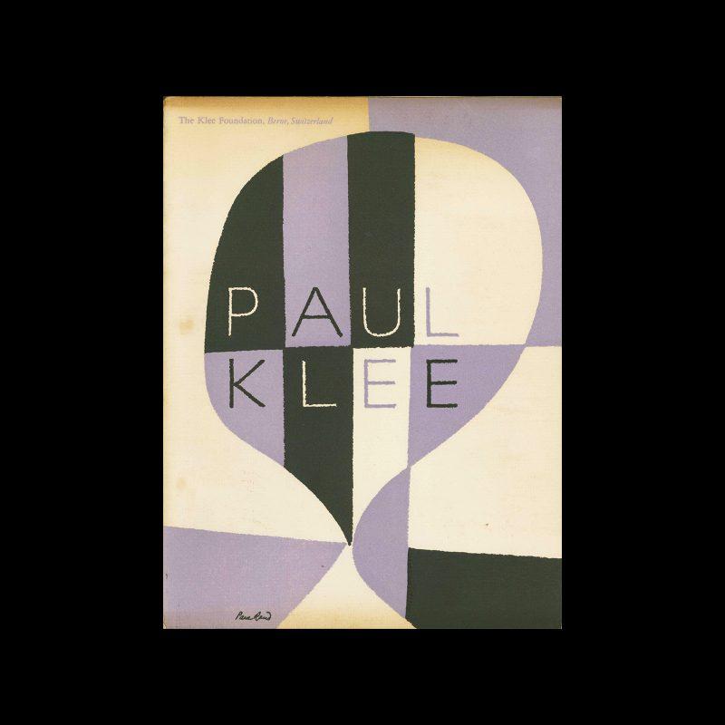 Paul Klee, The Museum of Modern Art, 1949. Designed by Paul Rand.