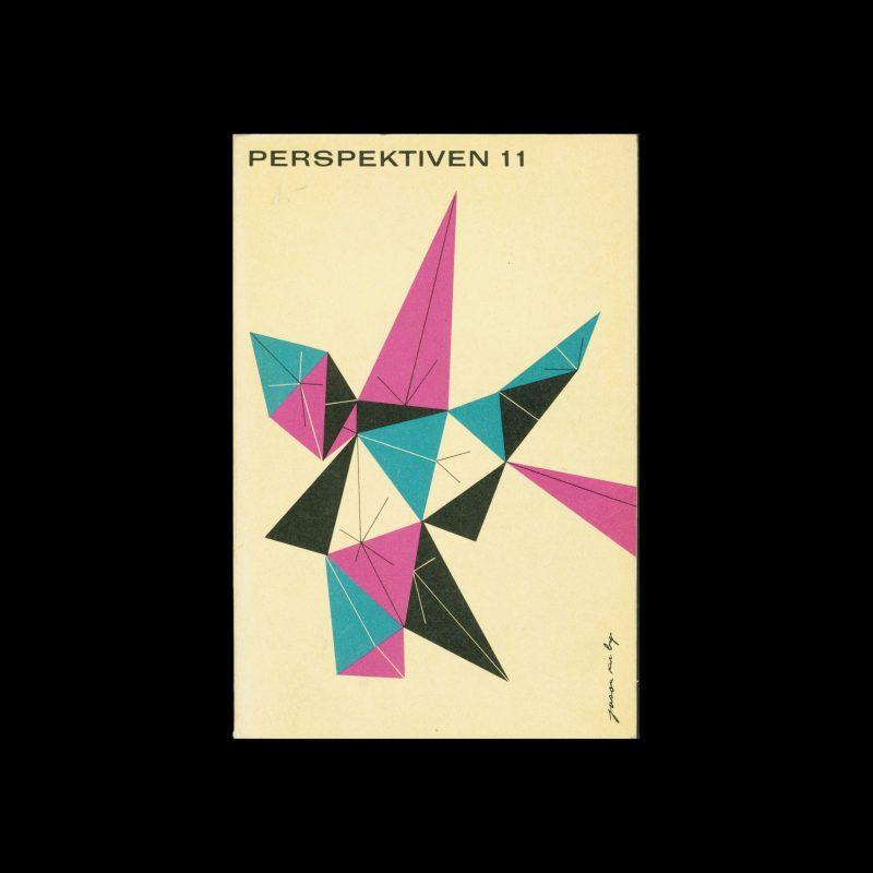 Perspektiven, Literatur, Kunst, Musik, 11, 1955. Cover design by Jason Kirkby