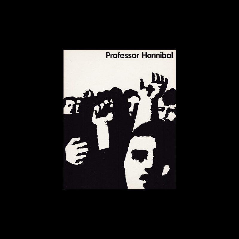 Professor Hannibal. Die Kleine Filmkunstreihe 9 designed by Hans Hillmann