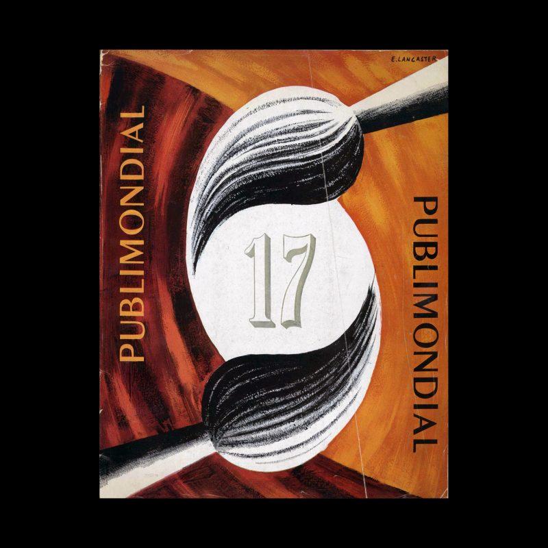 Publimondial 17, 1949. Cover design by E Lancaster