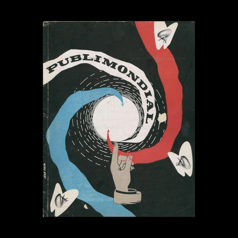 Publimondial 25, 1950. Cover design by Jean Colin