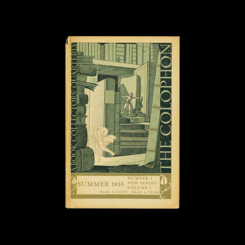 The Colophon, A Quarterly For Bookmen, Summer 1935